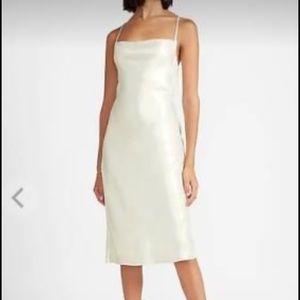 Express Slip Midi Dress